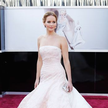 "<p>J-Law has made it pretty clear she doesn't stick to the Hollywood playbook (silver linings or otherwise.) She doesn't really want to talk about her stunning Dior gown (At the Oscars: ""What do you mean? This is the top, and this is the bottom.""), she's all but said she hates doing interviews, and <a href=""http://www.cosmopolitan.com/celebrity/news/jennifer-lawrence-silver-linings-playbook-premiere"" target=""_blank"">she's even worn a tux</a>to her own movie premiere. Defining your own ""norm"" proves you're comfortable with who you are and who you aren't—like it or not.</p>"