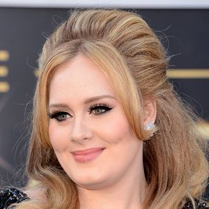 """<p>Adele always gets it right on the red carpet. She works her signature winged eyeliner look so well! Her makeup artist/hair stylist Michael Ashton shows us how to get her look:</p><p>Apply <a href=""""http://www.giorgioarmanibeauty-usa.com/Maestro-Foundation/A300,default,pd.html?dwvar_A300_color=2&start=2&cgid=foundation."""" target=""""_blank"""">Giorgio Armani Maestro Fusion Makeup</a> all over face to even skin (Adele's wearing #14). Try <a href=""""http://www.lancome-usa.com/TEINT-MIRACLE-INSTANT-RETOUCH-PEN/1000512,default,pd.html?dwvar_1000512_color=3&start=2&q=Lancome%20Teint%20Miracle&cgid=makeup-concealers&cm_vc=search"""" target=""""_blank"""">Lancome Teint Miracle Instant Retouch Pen</a> to brighten inner tear ducts and high planes of the face. Contour face under cheekbones and alongside temples with <a href=""""http://www.smashbox.com/product/6016/17811/Cheeks/Bronzer/BRONZE-LIGHTS/MSNs-33-BEST-Beauty-Products/index.tmpl"""" target=""""_blank"""">Smashbox Contour Powder</a> (when contouring always make sure the bronzer is matte) and set the look with <a href=""""http://www.giorgioarmanibeauty-usa.com/luminous-silk-powder/A232,default,pd.html?dwvar_A232_color=2%20-%20ivory&start=1&cgid=powder&cm_vc=Search&q=powder"""" target=""""_blank"""">Giorgio Armani Silk Luminous Powder </a>(Adele's wearing #14). Fill in eyebrows with <a href=""""http://www.giorgioarmanibeauty-usa.com/eye-brow-defining-pencil/A055,default,pd.html?dwvar_A055_color=2%20-%20brown&cgid=brows"""" target=""""_blank"""">Giorgio Armani Brown Defining Pencil</a> and apply <a href=""""http://www.giorgioarmanibeauty-usa.com/eyes-to-kill-intense-eyeshadow/A418,default,pd.html?dwvar_A418_color=1%20Blast%20of%20Blue&start=4&cgid=eyeshadow&cm_vc=Search&q=Eyes%20to%20kill%20"""" target=""""_blank"""">Giorgio Armani Eyes to Kill Quad in #6</a> to create golden toned eyes. For that  perfect cat eye, try <a href=""""http://www.maybelline.com/products/eye-makeup/eye-liner/eye-studio-lasting-drama-gel-eyeliner.aspx"""" target=""""_blank"""">Maybelline Gel Liner in black </a>and Lancom"""