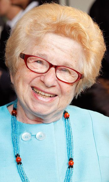 """""""The principal concern for women is not having an orgasm. But a woman has to take responsibility for her own orgasms."""" —Dr. Ruth Westheimer"""