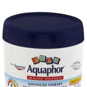 <p>This ointment is not only baby safe, there has so many other features. Use it to regulate the moisture in your skin, shorten healing time, and also help with acne, dry skin, or minor burns. Pretty much any skin issue you're having aquaphor can help you out. Definitely a must have! </p>