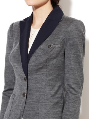 <p>One thing we love about blazers is that you can dress them up or dress them down. Add the reversible twist and you've automatically doubled your options.</p> <p> </p>