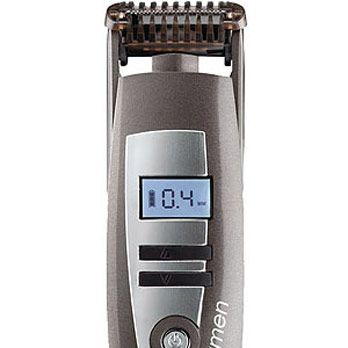 <p>Who can resist a hair trimmer with an LCD display? He loves it because it's tech-y and makes beard-grooming a cinch. You love it because it zaps pesky bikini and eyebrow hairs in a flash.</p>