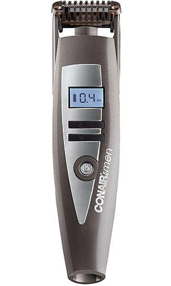 "<p>Who can resist a hair trimmer with an LCD display? He loves it because it's tech-y and makes beard-grooming a cinch. You love it because it zaps pesky bikini and eyebrow hairs in a flash.</p> <p>Conair I-Stubble Trimmer , $50, <a href=""http://www.soap.com/p/conair-i-stubble-trimmer-152824?site=CA&utm_source=Google&utm_medium=cpc_S&utm_term=CCP-005&utm_campaign=GoogleAW&CAWELAID=1323132377&utm_content=pla&adtype=pla&cagpspn=pla"" target=""_blank"">soap.com</a></p>"