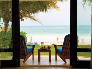 "<p>This luxurious <a href=""http://www.maromahotel.com/web/ocan/maroma.jsp"" target=""_blank"">resort</a> is drop. dead. gorgeous! Have huevos rancheros with an amazing beach view. Every Wednesday they offer a Mayan-inspired dinner for hotel guests that includes typical Mayan cuisine cooked traditionally over a fire.</p>"