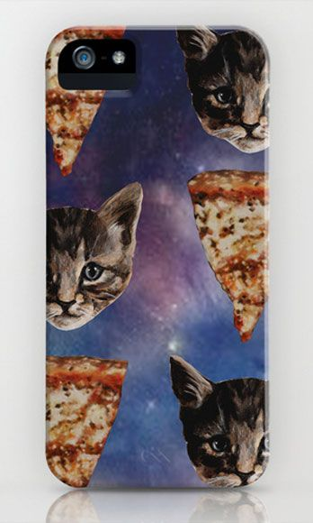 "<p>Two of our favorite things in one kickass little case—who could ask for more? (Cat ladies, we got you.)</p> <p>$35; <a href=""http://society6.com/product/Kitten-Pizza-Galaxy_iPhone-Case%20cat%20ladies%20-%20http://www.cosmopolitan.com/celebrity/news/one-in-ten-women-cuddle-with-cat"" target=""_blank"">society6.com</a></p>"