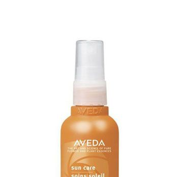 """<p>Before spending the day outside, run this lightweight, sun-shielding serum through hair. Not only does it contain natural UV filters like wintergreen and cinnamon bark, it smells heavenly – thanks to neroli and ylang ylang -- and glossifies strands like nobody's business.</p><p>Aveda Sun Care Protective Hair Veil, $27, <a href=""""http://www.aveda.com/product/5253/17010/Collections/Sun-Care/index.tmpl?cm_mmc=GoogleProductSearch-_-Null-_-Null-_-Null"""" target=""""_blank"""">aveda.com</a></p>"""