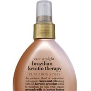 <p>Spray on a section of hair, then immediately smooth with a flat iron. Protects against heat damage and perfect for silky smooth styles.</p>