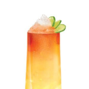 <p>2 oz. SKYY Infusions Moscato Grape<br />1/2 oz. Coco Lopez<br />1/2 oz. Sweetened Passion Fruit Puree<br />1/2 oz. Fresh Lime Juice<br />Top with Angostura bitters<br /> </p>