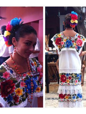 """<p>A beautiful, vibrant floral dress is perfect for spring.</p> <p> </p> <p>Dress: $150, <a href=""""http://www.etsy.com/listing/62634074/alegria-white-mexican-embroidered?utm_source=google&utm_medium=product_listing_promoted&utm_campaign=clothing_mid"""" target=""""_blank"""">Etsy.com</a></p> <p>Hair piece: $1.80 each, <a href=""""http://www.forever21.com/Product/Product.aspx?Br=F21&Category=ACC&ProductID=1030187307&VariantID="""" target=""""_blank"""">Forever21</a></p>"""