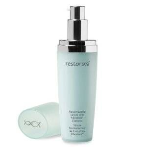 """<p>Skin can get oily a lot quicker during the warmer months. A great way to combat this is to ditch the moisturizer, which can leave your skin a bit greasy, and use a lighter serum. They actually penetrate the skin better than moisturizers do, and still hydrate. Try Restorsea Renormalizing Serum.</p><p> </p><p>$195, <a href=""""http://www.restorsea.com/Restorsea-Renormalizing-Serum/dp/B00BEZX8LI?gclid=CO_Nxoqus7YCFepQOgod1VwA8A#.UV6s4Bm1efQ"""" target=""""_blank"""">Restorsea.com</a></p>"""