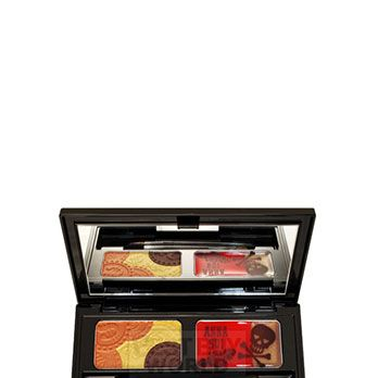 """<p>Artsy-boho with a hint of rock star glam, Sui's cosmetics are as cool as her fashion line! Especially the eye products – it's all about her bright, shimmery cream eye shadows and decadent liquid liners.</p><p>Anna Sui Eye and Lipcolor Palette, $30, <a href=""""http://www.annasui.com/en/cosmetics/"""" target=""""_blank"""">annasui.com</a></p>"""