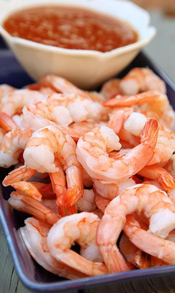Low in calories and high in protein, shrimp are an easy and delicious way to add protein to your meal (just don't 'em deep-fried). Grill them up and serve them on a salad or kebob.