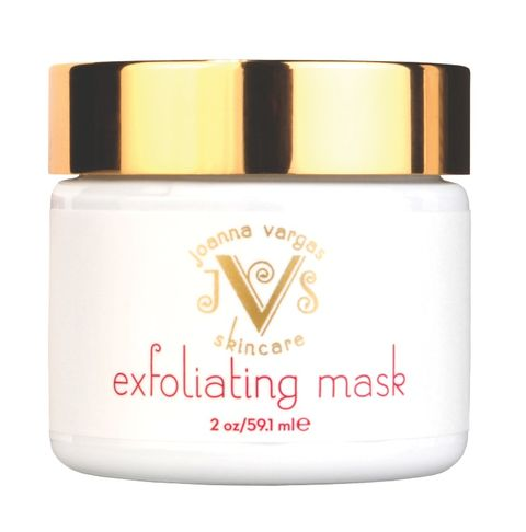 "<p>Her skincare products are amazing and even better all organic. Latina Joanna Vargas believes in taking care of your body from the inside out in order to fully take care of your skin on the outside. We're obsessed with the glow we get with this natural  mask. With ingredients like larch tree, kojic acid (a natural lightening ingredient, great for getting rid of manchas) and volcanic ash, this mask is a true winner in our book.</p> <p>$75, <a title=""Exfoliating"" href=""http://joannavargas-skincare.com/products-page/exfoliator/exfoliating-mask-2-oz/%20"" target=""_blank"">Joanna Vargas Skincare</a></p>"