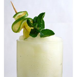 <p>This frosty remix of Brazil's national cocktail will cool you down after a steamy samba session with your guy.</p>