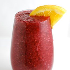 <p>Slushy, fruity, spiked—might as well call it a wine smoothie. Trust us...you're going to want to triple the recipe.</p>