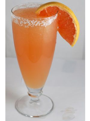 "<p>Forget your routine 'Rita. You'll be fly with this other tequila-based cocktail from Mexico named ""The Dove.""</p> <p>Koshersalt(optional)<br /> 2 ounces reposado tequila<br /> 1⁄2 cup ruby red grapefruit juice<br /> 1 tablespoon fresh lime juice<br /> 1 tablespoon sugar<br /> Grape fruit wedge, for garnish<br /> 2 cups ice </p> <p>Run the grapefruit wedge around the glass and dip in the salt to coat the rim. Blend tequila, juices, sugar, and ice until smooth. Pour into the prepared glass and garnish.</p>"