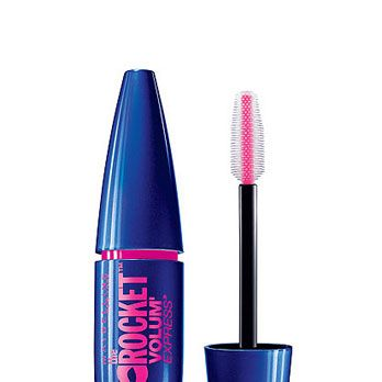 """<p>If it were only about the thick, jumbo-size wand (perf for amplifying blah lashes), we'd be happy. But the formula rocks, too – clump-proof and smear-resistant, it leaves also leaves your fringe looking thicker and glossier than ever. Bat your lashes at him a couple times and watch what happens.</p><p>Maybelline Volum' Express The Rocket Mascara, $6, <a href=""""http://www.target.com/p/maybelline-volum-express-the-rocket-washable-mascara/-/A-14328368?ref=tgt_adv_XSG10001&AFID=Google_PLA_df&LNM=