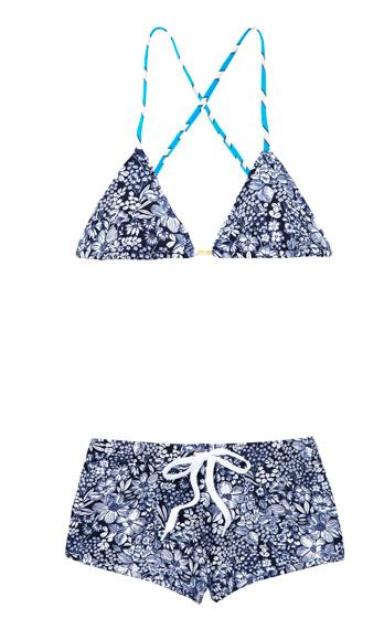 """<p>Bikini top, $145, and short, $120, Charlie by Matthew Zink, <strong><a href=""""http://www.charliebymzstore.com/"""">charliebymzstore.com</a></strong></p>"""