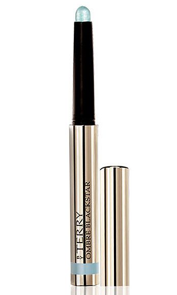 """<p>Lightweight, silky-smooth, and drenched in bold color, these shadow pens are our new springtime staple – especially this metallic pastel blue! Add a swoop of black liquid liner along upper lash lines, and voila, you're the hottest girl in the room.</p> <p>By Terry Ombre Blackstar in Paradise Island, $43, <a href=""""http://www.barneys.com/By-Terry-Ombre-Blackstar-%22Color-Fix%22-Cream-Eyeshadow/00505004433873,default,pd.html"""" target=""""_blank"""">barneys.com</a></p>"""