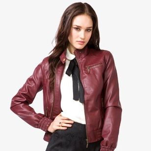 <p>Try a bomber design if you want to give your ensemble a dose of drama. This is one you can dress up or down, day or night.</p>