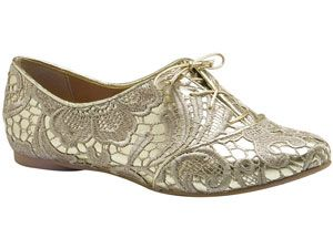 """<p>On-trend oxfords get a girly twist with lace overlay. Super cute with skinny jeans and shorts.</p> <p><a href=""""http://www.miucha.com.br/"""" target=""""_blank"""">Miucha</a>, $120</p>"""