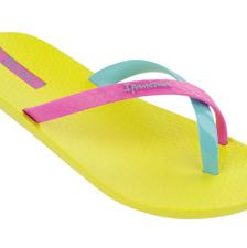 <p>Flip-flips are a summer must. In a multi-color style, they'll go with almost all.</p>