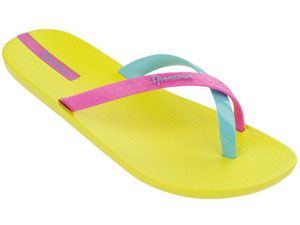 """<p>Flip-flips are a summer must. In a multi-color style, they'll go with almost all.</p> <p><a href=""""http://ipanemausa.com/"""" target=""""_blank"""">Ipanema</a>, $23</p>"""
