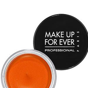"<p>OK, so going makeup free may be a stretch for some of us (I just broke out in hives just <em>thinking</em> about going sans makeup), so try to go for makeup that's built to last. A bullet-proof, tear-proof formula like <a href=""http://www.sephora.com/aqua-cream-P262109?skuId=1246958"">Make Up For Ever Aqua Cream</a>, $23, can be used on the lids or as a base to prolong the wear of your eyeshadow and can also be used as liner when paired with an eyeliner brush. You can also use certain shades (like the vibrant orange pictured) on your cheeks and lips.</p>"