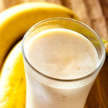 <p><strong>What You Need</strong>: A banana, milk, and peanut butter</p>