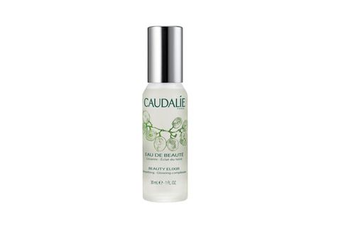 "<p>It's not really a serum, and we wouldn't call it a toner. All we know is that this magical skincare cocktail manages to smooth, soothe, tighten, and infuse your complexion with a youthful gleam. Perfect on hungover mornings!</p> <p>Caudalie Beauty Elixir, $18, <a href=""http://www.sephora.com/beauty-elixir-P6025"" target=""_blank"">sephora.com</a></p>"