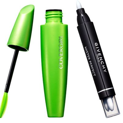 <p>Recycle last night's look: Nix smears with a makeup eraser (like Givenchy's here) or cotton swab. Layer on more mascara (clump-free is key).</p>