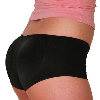 """<p>Do you have a booty that DOES quit? Do you have dumps like a Prius instead of a truck? Well buy a fake butt already! Booty Pop is padded underwear that turns your regular tush into a J-Lo-sized scandal. The pads come in range of different colors with names like, """"White Marshmallow"""" and """"Blueberry Gumdrop.""""</p><p>I have a gay male friend in San Francisco swears by his butt pad. """"It just give me so much confidence,"""" he says. """"It makes me look HOT!"""" If you want a little more cushion for the pushin', this perfect for you because it's literally a cushion for your a$$. Personally, I feel the same way about butt pads as I do about padded bras: someone down the line is gonna feel cheated and I'd rather not have to deal with that. """"Aww man, I thought that was your real butt! It's just spongy underwear!"""" No gracias.</p>"""