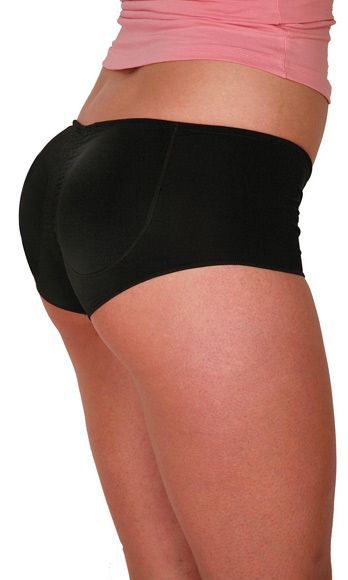 """<p>Do you have a booty that DOES quit? Do you have dumps like a Prius instead of a truck? Well buy a fake butt already! Booty Pop is padded underwear that turns your regular tush into a J-Lo-sized scandal. The pads come in range of different colors with names like, """"White Marshmallow"""" and """"Blueberry Gumdrop.""""</p> <p>I have a gay male friend in San Francisco swears by his butt pad. """"It just give me so much confidence,"""" he says. """"It makes me look HOT!"""" If you want a little more cushion for the pushin', this perfect for you because it's literally a cushion for your a$$. Personally, I feel the same way about butt pads as I do about padded bras: someone down the line is gonna feel cheated and I'd rather not have to deal with that. """"Aww man, I thought that was your real butt! It's just spongy underwear!"""" No gracias.</p>"""
