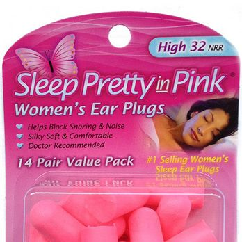 "<p>If you're like me you need total silence to go to sleep. But earplugs are so...not sexy. That's where ""Pretty Pink Earplugs"" come in. They are earplugs...but pink! Get it? I don't. Apparently, the idea of a PINK earplug makes a huge difference in sex appeal. I don't know about you, but when my guys asks me to ""take it all off"" he usually whispers, ""but keep in the pink ear plugs, they're so hot."" But I can't hear him because I'm wearing ear plugs. Being a girl is hard!</p>"