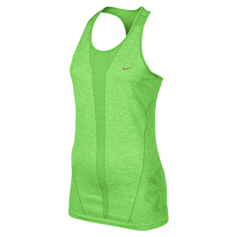 <p>The fun part: I loved Nike's spring gear, including the Dri Fit Knit Tank, which actually gave me decent support on its own for short runs.<br /><br /></p>