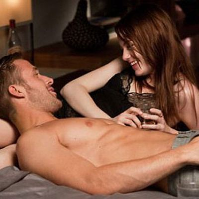 """<p>There is only one man other than Patrick Swayze himself who could make the <em>Dirty Dancing</em> lift feel like legitimate foreplay: <a href=""""http://www.cosmopolitan.com/celebrity/news/peoples-sexiest-man-alive-ryan-gosling"""" target=""""_blank"""">Shirtless Ryan Gosling</a>. Thanks, we just orgasmed. Which brings us to...</p>"""