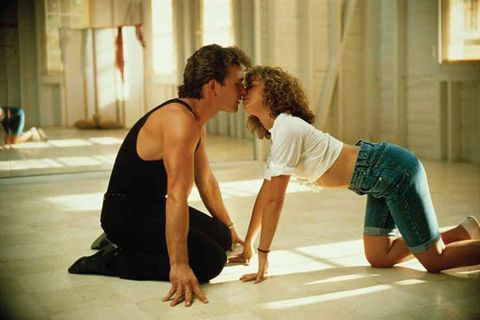 "<p>Pelvises rocking in unison. Crawling all over the floor to the sounds of ""Love is Strange."" That flash of Swayze's bum. Dirty dancing indeed!</p>"