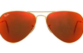 """<p>These sunglasses will instantly take any outfit a up-a-notch, while shielding your eyes from harmful rays.</p> <p>Rayban mirrored aviators, $160, <a href=""""http://www.ray-ban.com/usa/sunglasses/?cat=12"""" target=""""_blank"""">ray-ban.com</a><br /><br /></p>"""