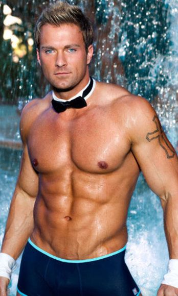 "Not only is Billy seriously hot, he was once a Cosmo bachelor from Idaho! <br /><br /> Eyeball Him At...<a href=""http://www.chippendales.com/the-men/billy-jeffrey/"" target=""_blank"">Chippendales</a>"