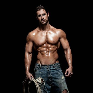 This hunky cowboy used to be an investment banker. So he can give you a sizzling lap dance <i>and</i> do your taxes afterward.