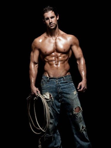 """This hunky cowboy used to be an investment banker. So he can give you a sizzling lap dance <i>and</i> do your taxes afterward.  <br /><br /> Eyeball Him At...<a href=""""http://www.hwmen.com/seanjames.html"""" target=""""_blank"""">Hollywood Men</a>"""