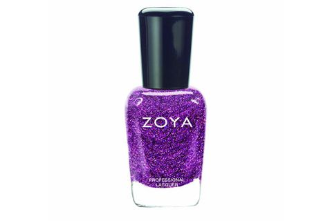 "<p>Try pairing this show-stopping, glittery plum polish with tangerine strappy stilettos. Man magnet central.</p> <p>Zoya Nail Polish in Aurora, $8, <a href=""http://www.amazon.com/Zoya-Nail-Polish-5-Aurora/dp/B009R4P0VY"" target=""_blank"">amazon.com</a></p>"