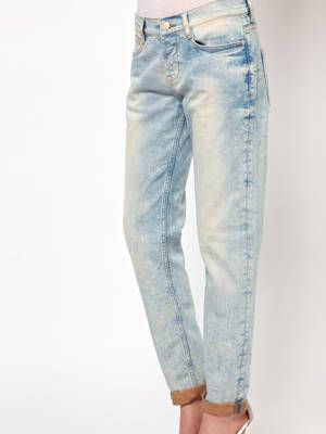 """<p>Because cuffing jeans can sometimes make an already petite figure look shorter and wider, you want to go for a pair that's slightly tapered at the hem to make you look longer and leaner. Try to avoid anything too wide at the bottom, and a good tailor is always a short girl's BFF.</p> <p>$44, <a href=""""http://us.asos.com/ASOS-PETITE-Brady-Slim-Boyfriend-Jeans-in-Bleach-Wash/102v4q/?iid=2729248&cid=14253&sh=0&pge=0&pgesize=9999&sort=-1&clr=Bleach&MID=35719&affid=2135&WT.tsrc=Affiliate&siteID=J84DHJLQkR4-r0zRugsStZyjwXX5Nwp78Q&xr=1&mk=VOID&r=3&mporgp=L0FTT1MtUGV0aXRlL0FTT1MtUEVUSVRFLUJyYWR5LVNsaW0tQm95ZnJpZW5kLUplYW5zLWluLUJsZWFjaC1XYXNoL1Byb2Qv"""" target=""""_blank"""">ASOS</a><br /><br />Wear it with a<a href=""""http://www.net-a-porter.com/Shop/Designers/ZeroandMariaCornejo/All?pn=1&viewall=off&image_view=product&dScroll=0"""" target=""""_blank""""> silk tank </a>like this one Zero+Maria Cornejo Ikta Printed Stretch-Silk Tank and a hot pair of suede sandals, like <a href=""""http://www.bergdorfgoodman.com/p/B-Brian-Atwood-Cutout-Suede-Sandal-Purple-Sandals/prod81780005_cat380415_cat234400_/?isEditorial=false&index=63&cmCat=cat000000cat230300cat232503cat412800cat234400cat380415&ecid=BGALRJ84DHJLQkR4"""" target=""""_blank"""">these</a>.<br /><br /></p>"""