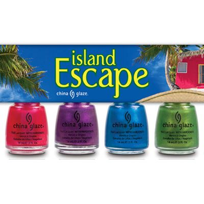 <p>Besides a hard-bodied guy, the best accessory for a lazy day on the beach is a vibrant, vampy pedicure! This island-ready kit comes with six electric shades that sex-up any skin tone.</p>