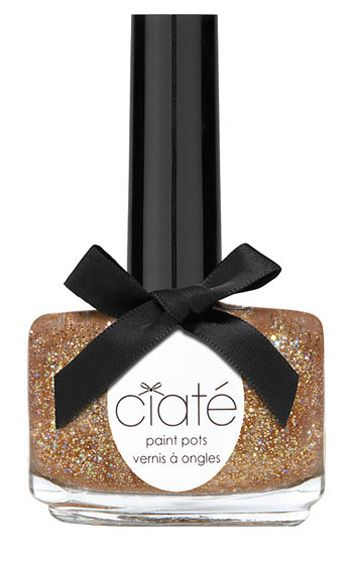 "<p>This multi-faceted, ultra-prismatic gilded hue is wildly attention-getting &#150; and yet chic enough to wear as a neutral. Bonus: looks fab with a tan.</p> <p>Ciaté Paint Pot in Party Shoes, $15, <a href=""http://shop.nordstrom.com/s/ciate-party-shoes-paint-pot/3385783?origin=keywordsearch-personalizedsort&contextualcategoryid=0&fashionColor=&resultback=4308&cm_sp=personalizedsort-_-searchresults-_-1_12_A"" target=""_blank"">nordstrom.com</a></p>"