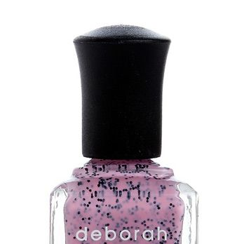 <p>Who knew the Easter egg mani thing would still be trending halfway into May? It&#146&#x3B;s easy to see why &#150&#x3B; this black glitter-spiked pastel pink is unexpected, slightly silly, and a definite conversation starter.</p>
