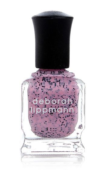 "<p>Who knew the Easter egg mani thing would still be trending halfway into May? It&#146;s easy to see why &#150; this black glitter-spiked pastel pink is unexpected, slightly silly, and a definite conversation starter.</p> <p>Deborah Lippmann Nail Lacquer in I&#146;m Not Edible, $19, <a href=""http://www.ulta.com/ulta/browse/productDetail.jsp?skuId=2259273&productId=xlsImpprod5280341&navAction=push&navCount=1&categoryId=cat80068"" target=""_blank"">ulta.com</a></p>"