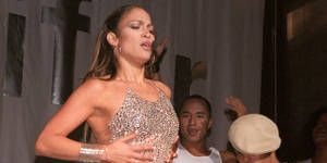 <p>JLo really stole the show in this 1999 performance at The Wktu-Fm 103.5 Miracle On 34Th Street Holiday Concert. This is precisely when we started seeing the sexy side of Jenny.</p>