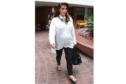 d1d71685bfa Kim Kardashian Maternity Style - Pregnant Celebrities Style