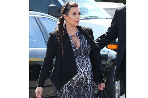 Kim Kardashian Maternity Style Pregnant Celebrities Style